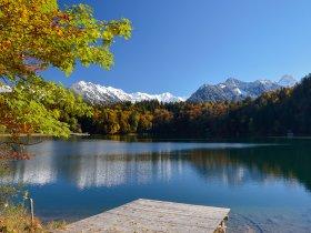 Freibergsee Herbst 2 Tourismus Oberstdorf