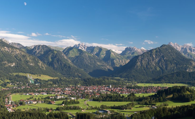 Oberstdorf von oben