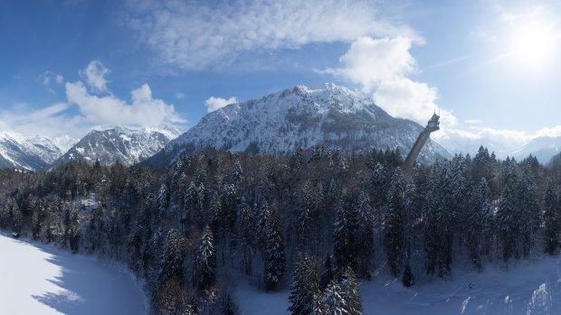 Skiflugschanze Oberstdorf Tourismus Oberstdorf