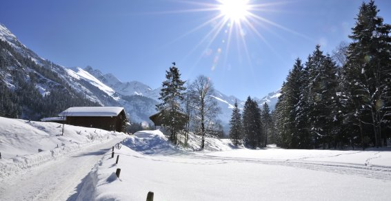 Stillachtal Winter Tourismus Oberstdorf