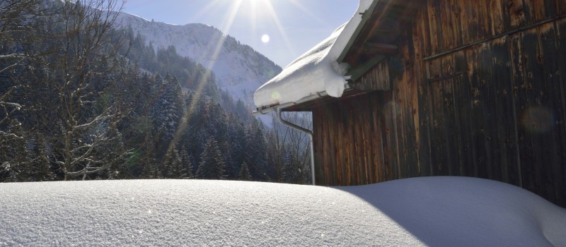 Winterlandschaft Tourismus Oberstdorf