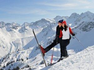 Ski Fellhorn  Paar Tourismus Oberstdorf