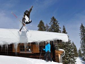 Ski Fellhorn Hütte  Tourismus Oberstdorf