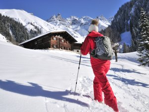 Winterwandern Einödsbach Tourismus Oberstdorf