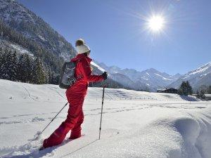 Winterwandern Stillachtal Tourismus Oberstdorf