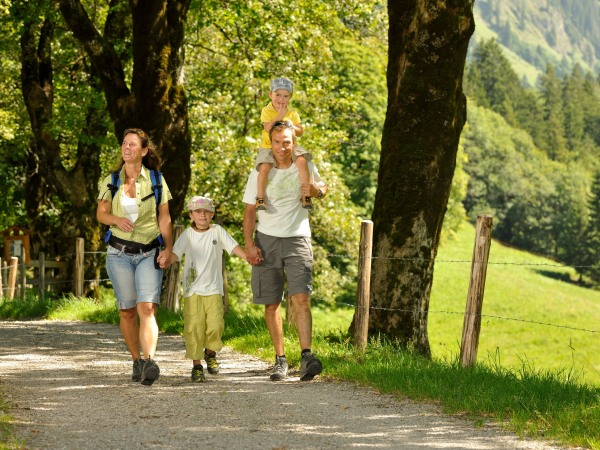 Familienwandern in Gerstruben