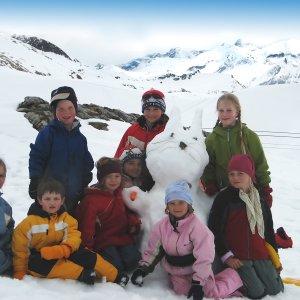 Unser Schnee-Osterhase