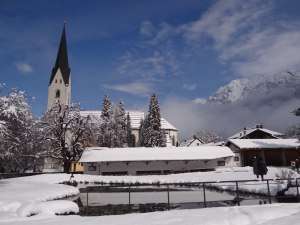 Kurpark und Kirche
