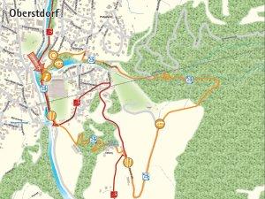 Ortsrunde Wandertrilogie Oberstdorf