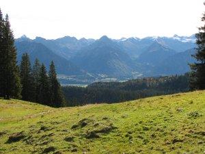 Oberstdorf - Blick unterhalb des Besler
