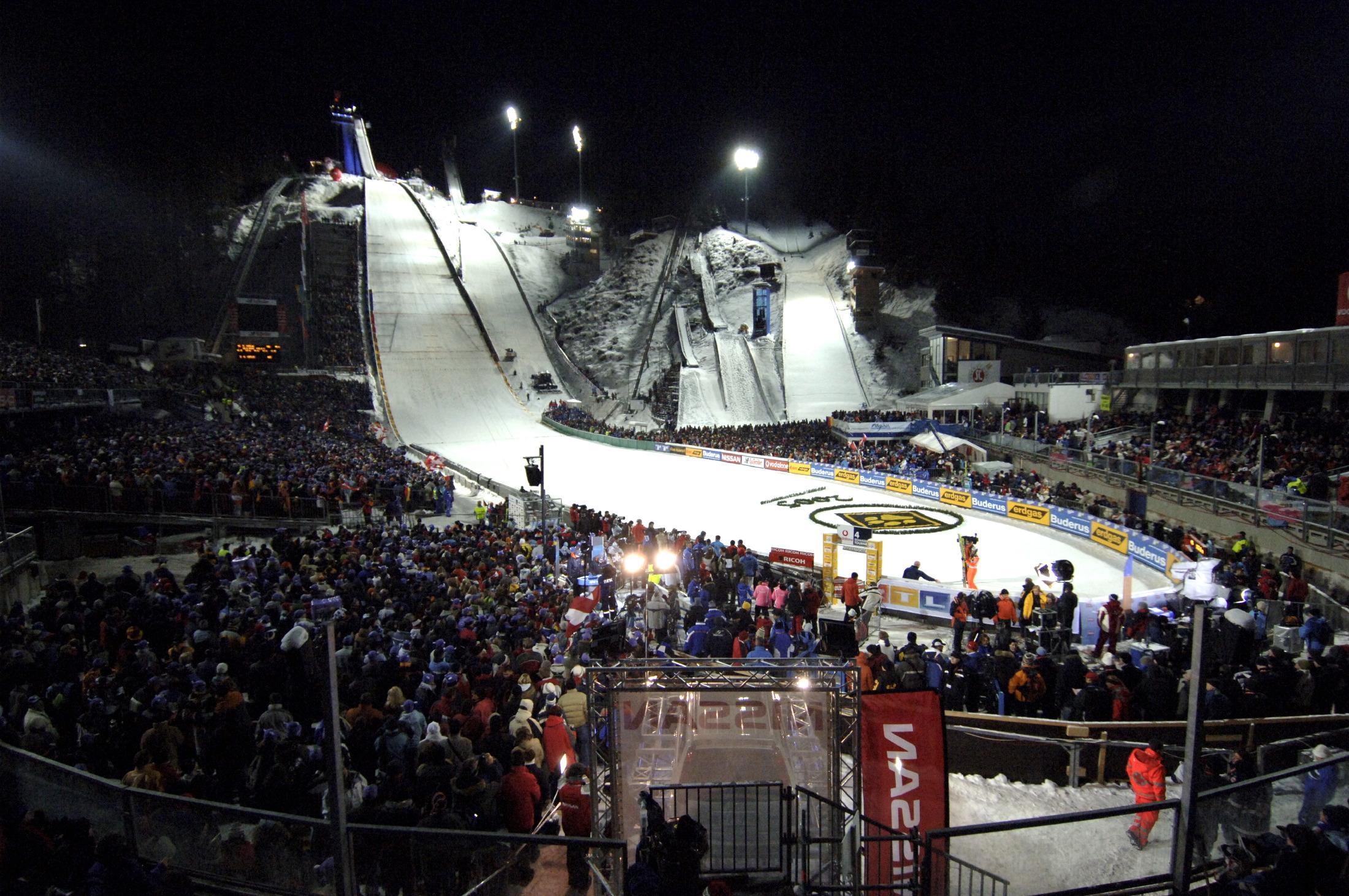 Skispringen - Audi Arena & Skiflugschanze Obestdorf