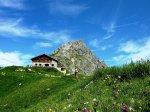 Fiderepasshütte mit Hammerspitze