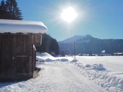 Winterwanderweg nach Loretto