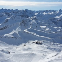 Ausblick vom Nebelhorngipfel