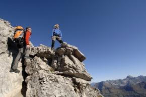 Bergsteigen mit 400-Gipfel-Blick
