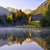 Morgens am Moorweiher