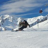 Skifahren im Winterparadies