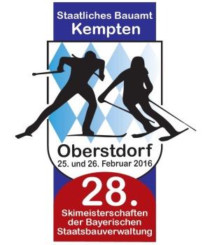 Logo 28.Skimeisterschaft in Oberstdorf