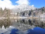 erster Schnee am Moorweiher