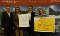 Auszeichnung Allergikerfreundliche Kommune