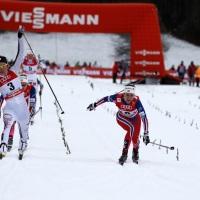 Sprintfinale der Damen
