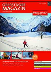 Oberstdorf Magazin 03/2016