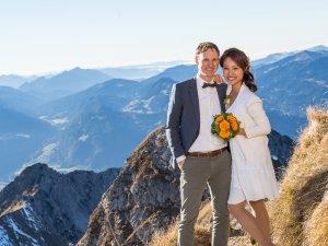 Heiraten auf dem Nebelhorn