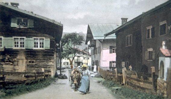 Oststraße (re. das heutige Heimatmuseum)