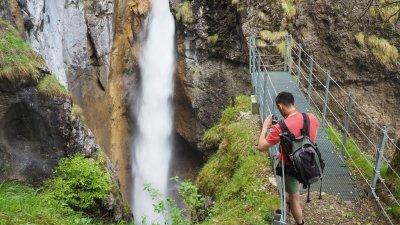 Wasserfall im Hölltobel