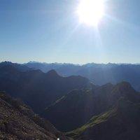 Bergblick Heilbronner Weg