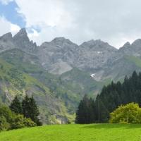 Bergblick in Einödsbach