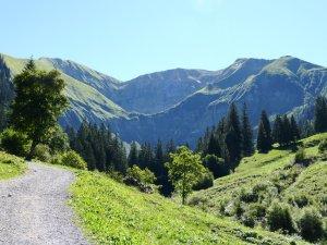 Rauheck (2384 m) Kreuzeck (2376 m)