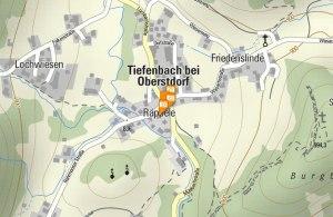 Standort Alpenrose Tiefenbach