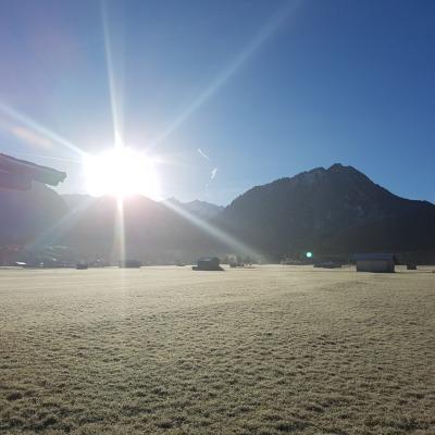 Morgensonne im Ösch