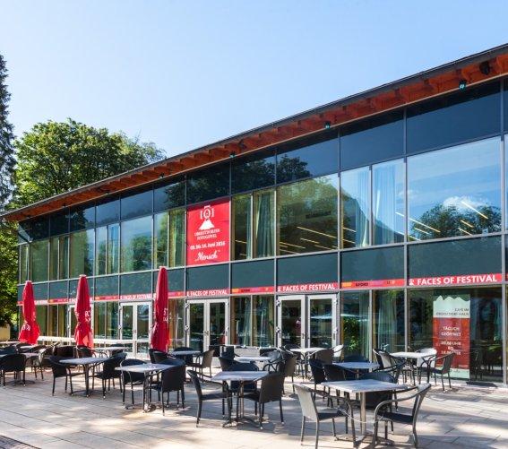 Terrasse Café im Oberstdorf Haus