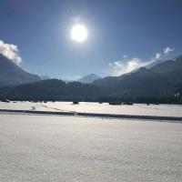 Verschneite Öschwiesen