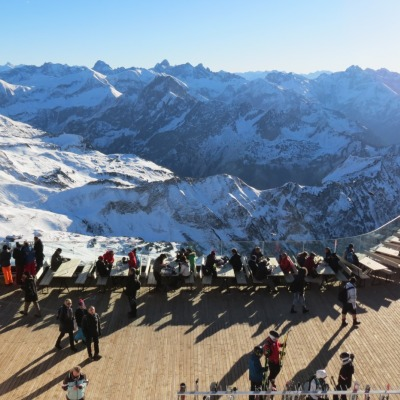 Gipfelterrasse Nebelhorn