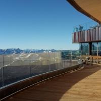 Terrasse Gipfelrestaurant Nebelhorn