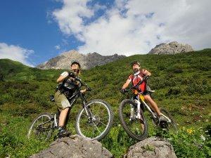 Mountainbiketour Käseralpe