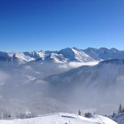 Bergpanorama vom Ifen