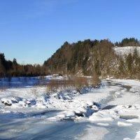 Winter an der Iller