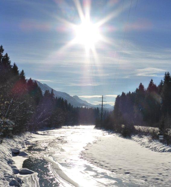 Winterliche Iller