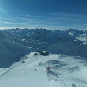Super Pisten am Nebelhorn
