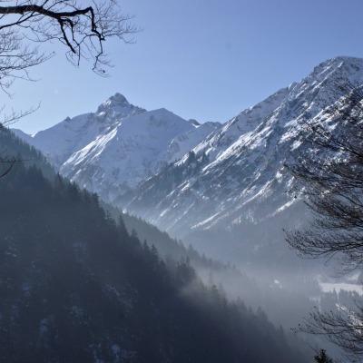 Winter im Trettachtal