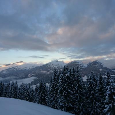 Ausblick von der Alpe Schrattenwang