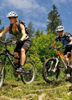 Mountainbiketour übers Fuchsloch