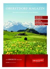 Oberstdorf Magazin 05/2017
