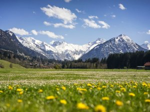 Frühlingshaftes Oberstdorf