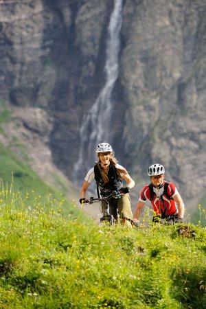 Mountainbiketour, Käseralpe