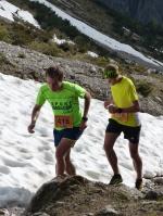 1. Sonnwendberglauf - die Sieger Quirin Schmölz und Johannes Klein
